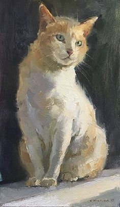 Cats painting oil pet portraits 57 new ideas Oil Painting Lessons, Image Chat, Watercolor Cat, Watercolor Illustration, Cat Drawing, Dog Portraits, Animal Paintings, Dog Art, Cute Cats