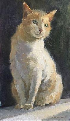 Cats painting oil pet portraits 57 new ideas Watercolor Cat, Watercolor Illustration, Nature Paintings, Animal Paintings, Oil Painting Lessons, Cat Drawing, Dog Art, Pet Portraits, Pets