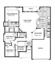 Jim Walters President II floor plan | Dream Home Items | Pinterest ...