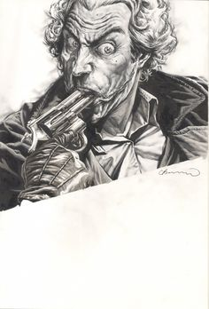 Splash Page Comic Art :: For Sale Artwork :: Joker HC by artist Lee Bermejo