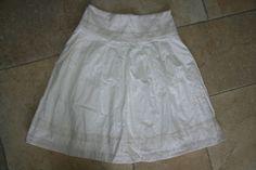 White skirt CCDK Size 8 ****Stunning***** Knee length | eBay