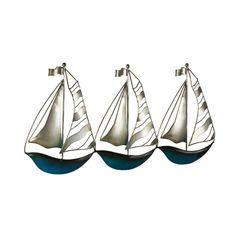 Buy Sailing Boat Metal Wall Art | Gallery | The Range £12.99