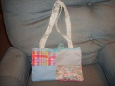 """Patchwork Purse """"The Green Mommy"""""""