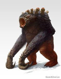 """""""Nephentroll - creature concept"""" by Cloister.deviantart.com on @DeviantArt"""