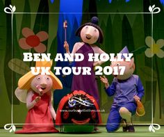 Did you know that Ben and Holly's little kingdom stage show is touring the UK