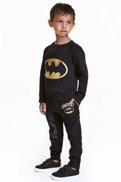 Joggers - Black/Batman - Kids | H&M GB 1
