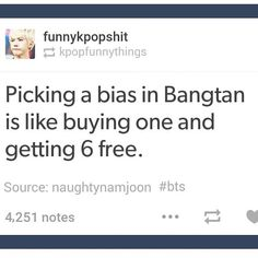 Exactly. This is one of the hardest groups for me to choose a single bias!