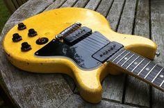 AGED Wrap around Tailpiece Lightwt Alum Nickel fits Gibson Junior Special 1959