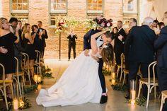 The Winslow, Hotel Indigo, Ceremony Arch, Cocktail Napkins, Industrial Wedding, Engagement Session, Color Pop, Designer Dresses, Our Wedding