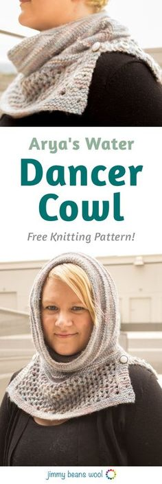 Arya's Water Dancer Cowl Free Knitting Pattern   Free Knitting Pattern   Knit Your Own Mitts   Knitting For Beginners   How To Knit For Beginners Step By Step   Beginners Knitting Patterns   How To Knit Step By Step   Labor Day   Jimmy Beans Wool