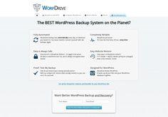 WordPress Backup System
