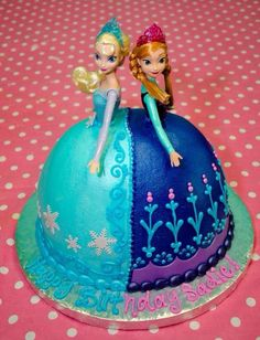 Frozen cake - WOW -