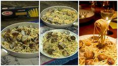 λιγκουίνε αλλε Βόνγολε - ζυμαρικά με αχιβάδες Linguine, Chicken, Meat, Food, Essen, Meals, Yemek, Eten, Cubs