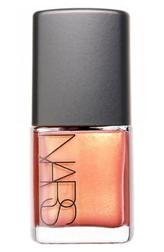 NARS Orgasm nail polish.  After wearing super bold nails for the past few weeks, this is a breath of fresh air.