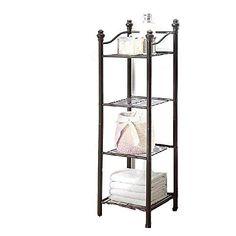 Large Capacity Storage Shelf Anti-Rust Shelf Suitable for Bathroom Creative Bathroom Shelf Bathroom Rack 2nd Floor