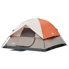 Coleman Sundome Tent 2000002058 The Coleman Sundome tent features their exclusive WeatherTec System - Guaranteed to kee you dry - and also includes ...  sc 1 st  Pinterest & Suisse Sport Mammoth 4 Person 2 Room Dome Tent (12u0027 x 10u0027 x 72 ...