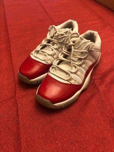 Jordan Retro 11 Cherry Low Size 4y  fashion  clothing  shoes  accessories   66ab8cb63