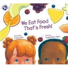 This book is awesome. The illustrations are so vibrant and the kids in the book are adorable. Great way to teach kids about healthy foods.