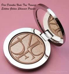 Dior Diorskin Nude Tan Transat Edition Golden Shimmer Powder