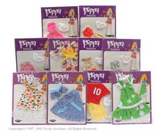 Palitoy Pippa Doll Carded Pippa Fashions X 10