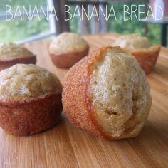 Banana Banana Bread - extremely popular recipe, so moist and yummy! Fruit Recipes, Dessert Recipes, Cooking Recipes, Yummy Treats, Yummy Food, Tasty, Breakfast Items, How Sweet Eats, Food Gifts