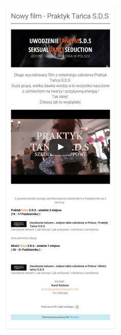 Nowy film - Praktyk Tańca S.D.S