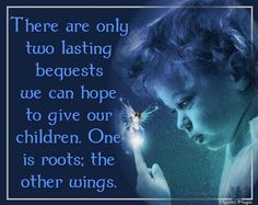Let them spread their wings...