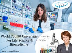 Get #Admission in World Top 50 #Universities For #LifeScience & #Biomedicine. Just call @ 1800-11-0199 and get an opportunity to make your career in Bio-Medicine. See more @ http://ucsworld.com/lifescience_bio/