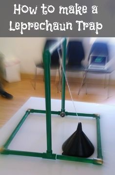 How to make a leprechaun trap. Examples and links to how to's. #stpatricksday #science #leprechaun