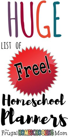 The best of the best homeschool planning resources! Planners, Calendars, and Schedules galore! This list is my GIGANTIC collection I've been working on since beginning to homeschool in There are still a few of my old favorites, plus some new ones Homeschool High School, Homeschool Curriculum, Tot School, Kindergarten Activities, Learning Activities, Preschool, Lesson Planner, Home Schooling, Planners