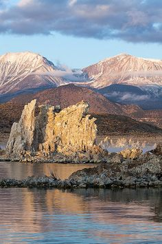 Mono Lake, California, right outside Yosemite National Park-SR