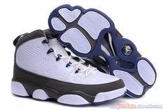 b2e4885caff695 Jordan Shoes Air Jordan 9 White Black French Blue Flint Grey  Air Jordan 9  - The Air Jordan 9 White Black French Blue Flint Grey shoes are sure to let  you ...