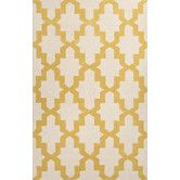 Found it at Wayfair - Brio Yellow/Ivory Geometric Area Rug