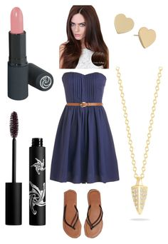 """Church Outfit #2"" by pema529 ❤ liked on Polyvore featuring beauty, Abercrombie & Fitch, Lipsy, Kate Spade, Elizabeth and James and Rouge Bunny Rouge"