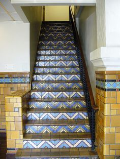 Art Deco Tile work, Adams Hotel    Please LIKE, REPIN, SHARE :) !    awesome