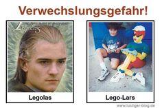 Verwechslungsgefahr Legolas
