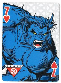 Seven of Hearts - Beast /// by stormantic /// via Flickr