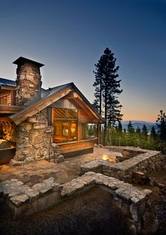 Gorgeous Lake Tahoe dream cabin. Lake Tahoe views from this luxury home.