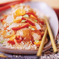 Slow Cooker Dinner-for-Two with an Asian twist. How easy is this? Hoisin Turkey Tenderloin