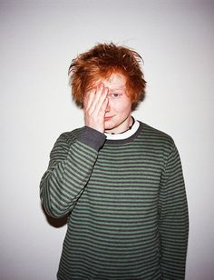 Ed Sheeran♥ His music is absolutely amazing! I love him! So cute!