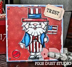 Pixie Dust Studio: Happy Birthday America!!!