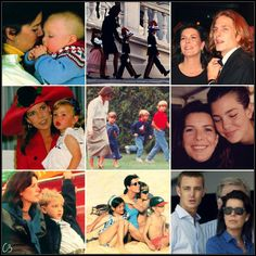 Casiraghi Alphabet:M is for Mother The Trio are extremely close with their mother, Princess Caroline of Monaco
