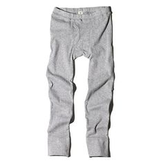Goat Milk - boy's organic ribbed thermal pants