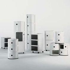 Anna Castelli Ferrieriu0027s Componibili Storage Units