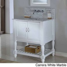 This popular mission vanity sink cabinet features a single vanity with added feature of an infinity undermount convertible sink to give you an infinity sink option, complete turned legs for a transitional look.