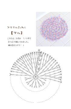 【楽天市場】TOP > 作品Sample♪レシピ > アクリルタワシ:毛糸ZAKKAストアーズ