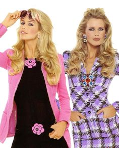 """""""Claudia Schiffer photographed by Karl Lagerfeld for CHANEL Spring/Summer 1995 """""""