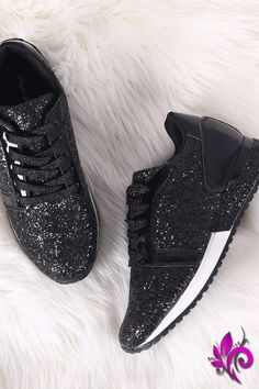 f0608f9aea69 Qupid Low Top Glitter Encrusted Lace Up Sneaker Glitter