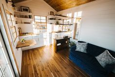 Hardwood Floors - Monocle by Wind River Tiny Homes