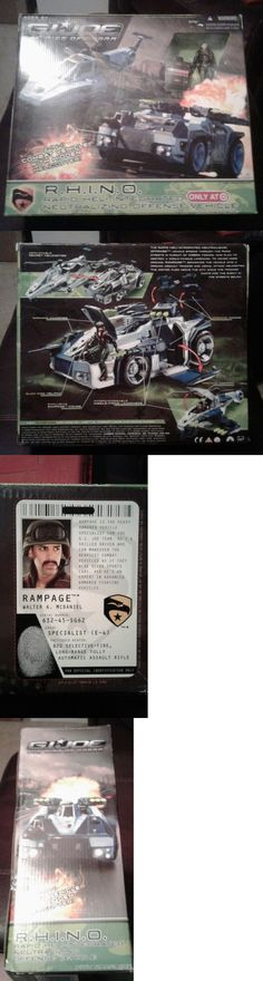 Military and Adventure 158679: Gi Joe Rhino - Vehicle W Helicopter - New Sealed - Rise Of Cobra - Rampage -> BUY IT NOW ONLY: $99.95 on eBay!